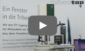 TTT Tapping Torque Test System by microtap GmbH :: en